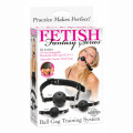 Fetish Fantasy Ball Gag Training system (kit bâillon noir pour bondage)