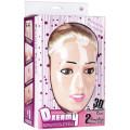 Poupée gonflable Dreamy face 3D Chantal